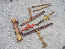Allis Chalmers Wd 45 Tractor 3pt Hitch Top Lift Arm Assembly W/ Top Link Holder