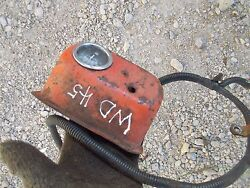 Allis Chalmers Wd 45 Tractor Ac Battery Box Amp Gauge Switch Box Wire Harness