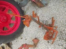 Allis Chalmers C Tractor Rear Ac Tool Bar Hand Cultivator Lift Assembly