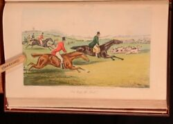 1846 The Analysis Of The Hunting Field Surtees Illus Alken Colour Root Binding