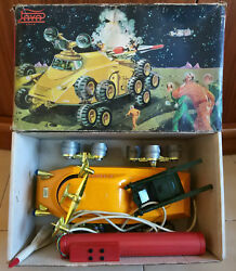 Scarce And Rare 60`s Zancudo Plastic Space Japan Tin Robot Style Made By Paya
