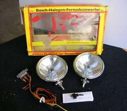 VINTAGE BOSCH DRIVING LAMP FOG LIGHTS BMW 02 VW MERCEDES MB NOS