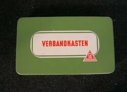 Nice First Aid Box Set - Vintage Car Accessory - Germany Oldtimer Classic Metal