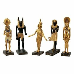 Wu9600 - Gods Of The Egyptian Realm - 8.5 Museum-quality Collectible Sculptures