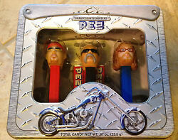 Pez Orange County Choppers 3 Collectible Dispensers Mint In Sealed Package Misp
