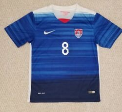 Clint Dempsey Nike Authentic Usa Soccer Away Jersey Dri-fit Small 2015/2016