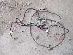 Farmall Ih 450 Tractor Complete Working Wiring Wire Harness