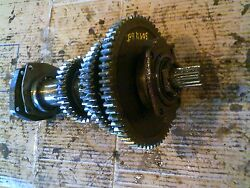 Farmall 504 Utility Tractor Ih Main Transmission Bottom Drive Gears And Shaft