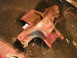 Ford 8n Tractor Ignition Key Switch And Hood Tank Mounting Bracket