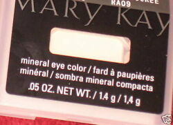 3 Mary Kay EYE Colors SPUN SILK, CRYSTALLINE & SWEET CREAM Mineral Eye Shadows