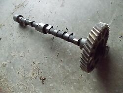 Ford 8n Tractor Late Model Engine Motor Camshaft Cam Shaft /and Cam Drive Gear