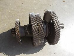 Ford 8n Tractor Transmission Main Top Upper Gears Bearing Shaft