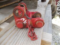 Ford 9n Tractor Original Main 3pt Hitch Center Top Link Main Holder Mount And+ Pin