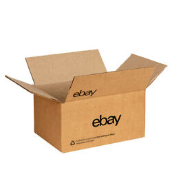 Ebay-branded Boxes With Black Color Logo 6 X 4 3/4 X 4 3/4