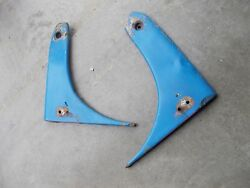 Ford 8n Tractor Original Radiator Side Hood Cover Wing Panels