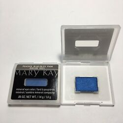 LOT OF 2 - Mary Kay Mineral Eye Color - Peacock Blue