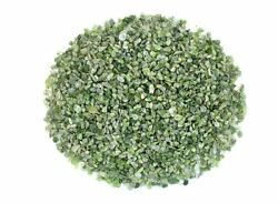 1/4 Ounce Russian Green Diopside Inlay Pieces Craft Wood Jewelry 4mm And Less