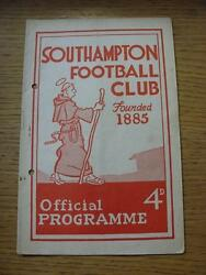 18/04/1960 Southampton V Reading Rusty Staple Punched Hole.
