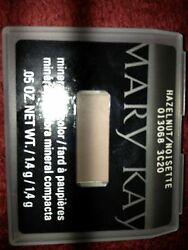 3 Mary Kay EYE Colors SPUN SILK, HAZELNUT & DRIFTWOOD Mineral Eye Shadows