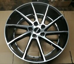 Oxigin 20 Hd Alloy Wheel 20and039and039 9.0x20 5x114.3 Black Polished Et30