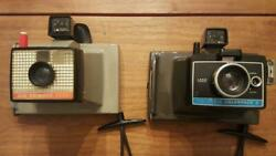 Lot Of 2 Vintage Polaroid Cameras / Colorpack Ii 2 And Big Swinger 3000 Untested