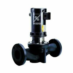 Grundfos Tp100-80/4 Direct Coupled In-line Circulator Pump End Only Cast Ir...