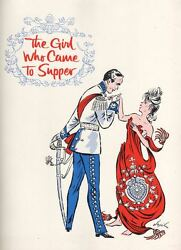 The Girl Who Came To Supper Souvenir Program 1963 Florence Henderson