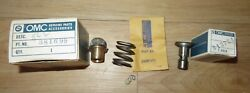 Vintage 1968 100hp Nos Omc Johnson Evinrude Oil Pump And Plunger 0381699 0312724