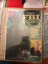THE FBI STORY & TONKA DELL COMIC BOOKS FROM THE 1950's!  YOU GET BOTH SHOWN!
