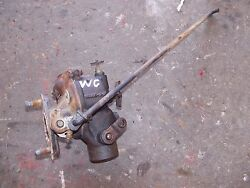 Allis Chalmers Wc Ac Tractor Engine Motor Zenith Carburetor Assembly And Linkage R