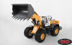 1/14 Scale Earth Mover 870K Hydraulic Wheel Loader (Yellow and White)