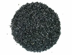1/4 Ounce Black Star Diopside Inlay Pieces Craft Wood Jewelry 4mm And Less