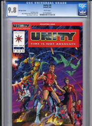 Valiant: Unity 0 Red CGC 9.8 1992 FREE US SHIPPING