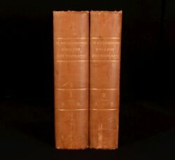 1836 2vol Charles Richardson A New Dictionary Of The English Language