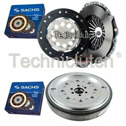 Sachs 3 Part Clutch Kit And Sachs Dmf For Audi A4 Estate 2.0