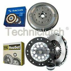 Luk 3 Part Clutch Kit And Sachs Dmf For Audi A6 Berlina 1.9 Tdi
