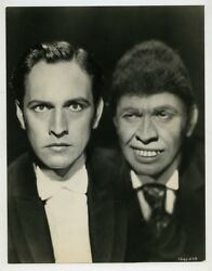 Dr Jekyll And Mr Hyde 1931 Original Photo Stunning Fredric March Horror Portrait