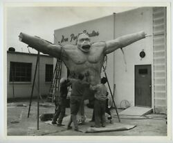 Don Post Studios 1969 Photo King Kong Famous Monsters Of Filmland Masks J2261
