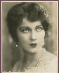 Fay Wray Vintage Photo Roaring 20s Flapper Girl Linen Backed Scream Queen J687