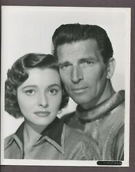 Michael Rennie And Patricia Neal 1951 Original Day The Earth Stood Still J3458