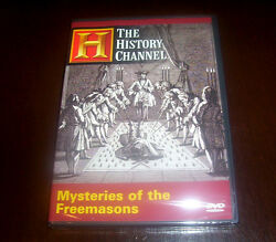 Mysteries Of The Freemasons History Channel Freemason Founding Fathers Dvd New