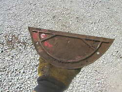 Farmall C Sc Rowcrop Tractor Press Steel Transmission Cover Plate