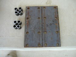 2 Farmall Mta 460 450 300 M Ih Tractor 8 Hole Fender Spacer Plates And 8 Risers