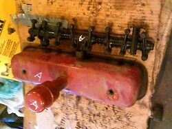 Farmall C A B Bn Tractor Original Ih Engine Motor Rocker Arm Assembly Andcover