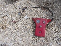 Farmall Cub Low Tractor Ih Good Gas Tank Mounting Bracket Wire Harness Switches