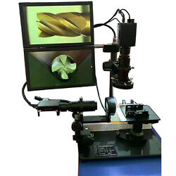 Cutter Tester Cutting Tool Observation Double Screen Dhmi Ultra High Definition