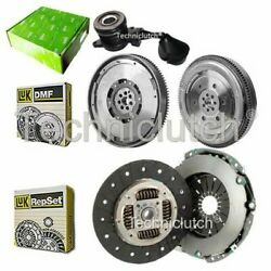LUK CLUTCH KIT AND LUK DMF WITH VALEO CSC FOR FIAT DUCATO BUS 120 MULTIJET 2.3 D