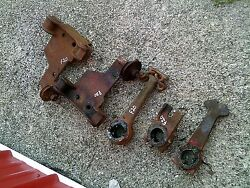 Farmall F20 Tractor Front Mounting Brackets And Pulleys And Cultivator Brackets