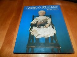 American Folk Dolls First Edition Doll Collector Collecting Antiques Toy Book