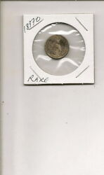 1897-o 90 Silver Liberty Barber Head Dime Coin